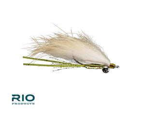 "RIO Flies - ""Bunny Foo Foo"" Bonefish Fly - Olive #6"