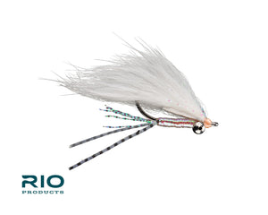 "RIO Flies - ""Bunny Foo Foo"" Bonefish Fly - Pearl/Pink #6"