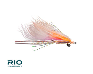 "RIO Flies - ""Bunny Foo Foo"" Bonefish Fly - Pink/Orange #6"