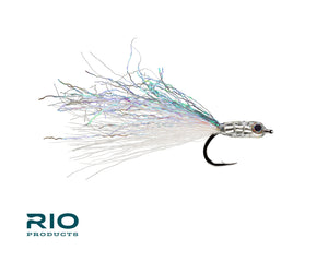 RIO Flies - Nice Glass Silver #2