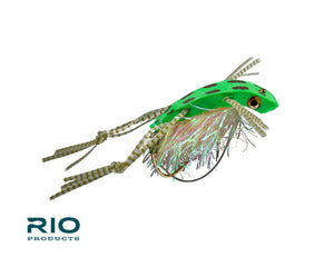 RIO Flies - Shimmy Frog #3/0 - NEW!