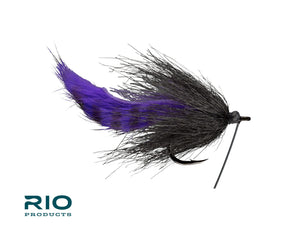 RIO's Smelling Salt #1/0 - Black & Purple
