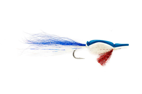 Gurgler Blue & White #3/0 - Fulling Mill Flies