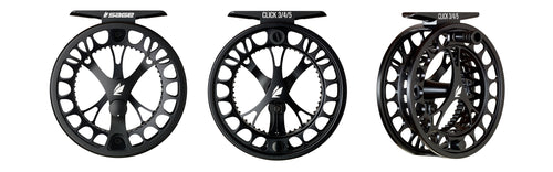 Sage CLICK Fly Reels - Stealth Black