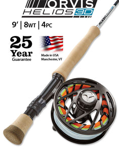 Orvis Helios 3D Fly Rod & Reel Outfits