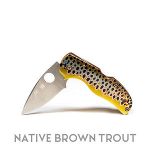 "Abel Native 5 Knife by Spyderco - ""Bonefish"""