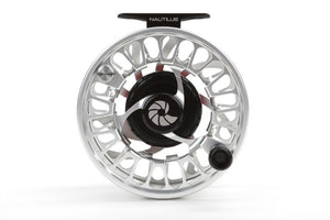 Nautilus NV-G Saltwater Fly Reel Silver 9/10 WT