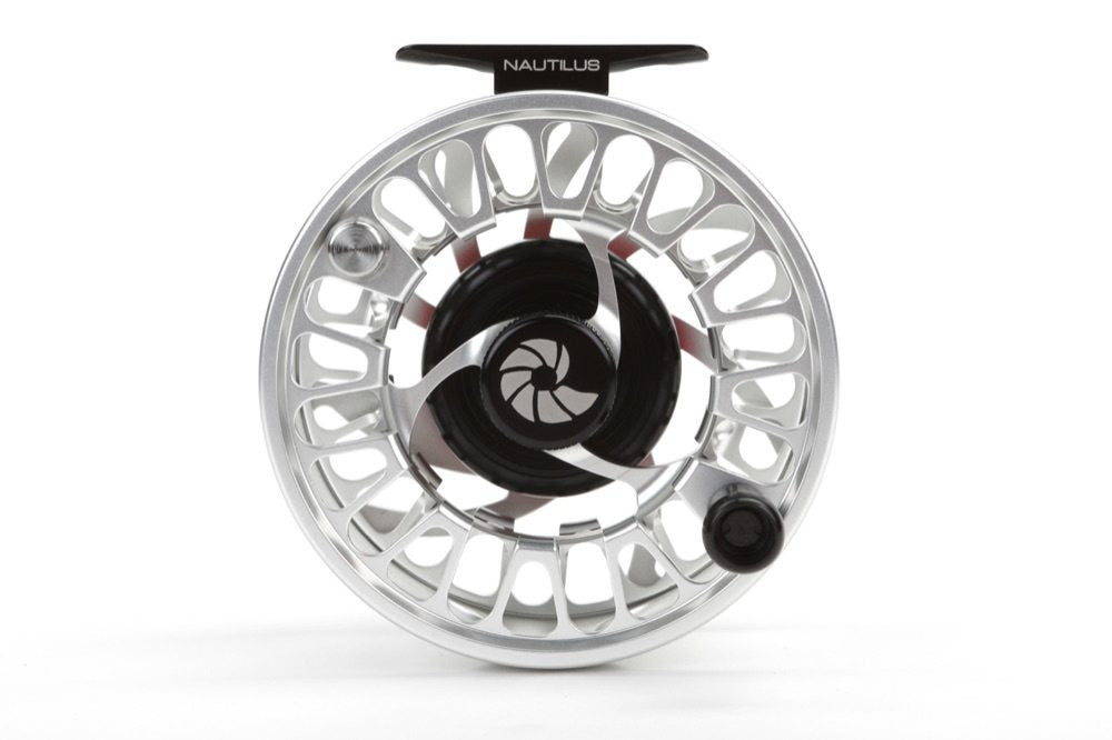 Nautilus NV G-10 Monster Saltwater Fly Reel - Silver G10 Monster Series