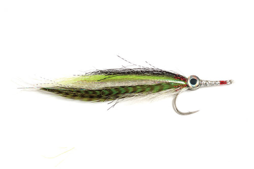 Wayne's GT Needlefish Chartreuse/White #6/0 - Fulling Mill Flies