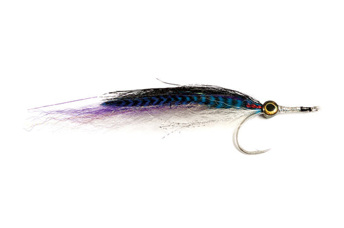 Wayne's GT Needlefish Blue/White #6/0 - Fulling Mill Flies
