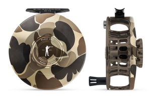 "Abel SDS Fly Reel - ""Ball and Buck"" Camo"