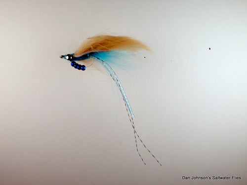 Blue Avalon Permit Fly - Dan Johnson Custom Saltwater Flies - NEW!!