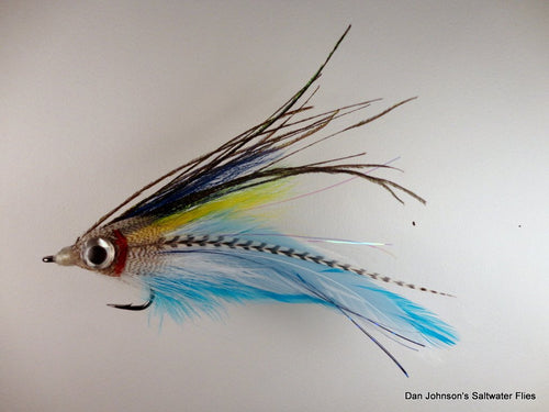 Big Eye Deceiver - Jungle Ghost - Dan Johnson Custom Saltwater Flies