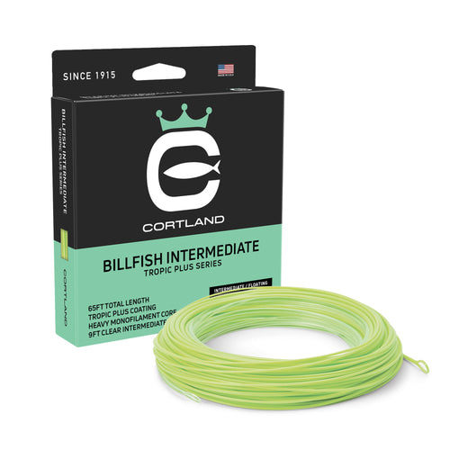 Cortland Billfish Intermediate Fly Line - Tropic Plus Series