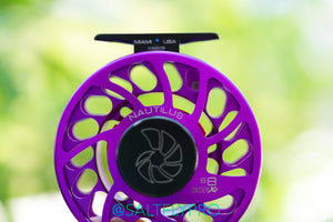 Nautilus CCF-X2 Violet Purple 6/8 Fly Reel (Special Color)