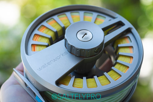 Waterworks Lamson COBALT Fly Reels - Waterproof to 100ft!