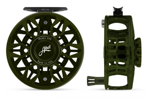 "Abel SDS Fly Reel - ""Deep Green"""