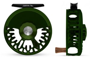 "Abel VAYA Fly Reel - ""Deep Green"" - NEW!!!"