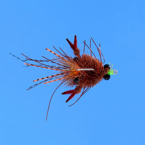 EP Flies - Tarantula Crab Mini Mottled Brown BC #2
