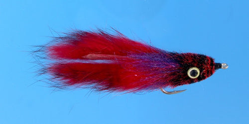 EP Flies - Tarpon Bunny Black/Red #2/0