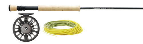 Sage Foundation Fly Rod and Reel Outfit Combo with Fly Line!