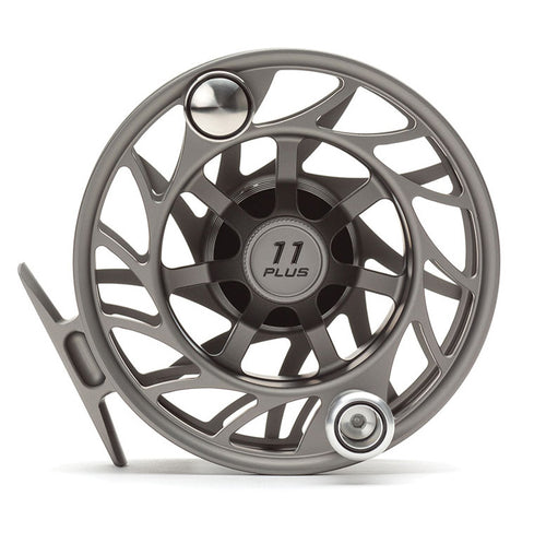 Hatch Finatic 11 Plus Gen 2 Saltwater Fly Reels - Gray