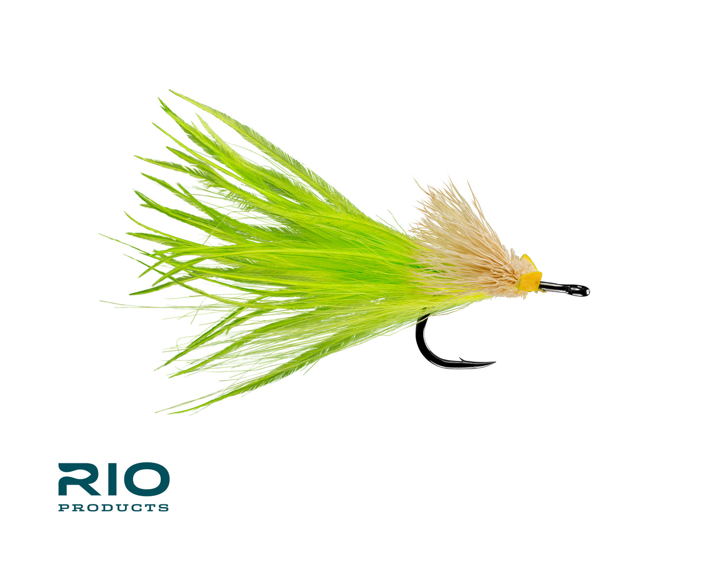 RIO Flies - Dread Pirate Yellow/Chartreuse #1/0