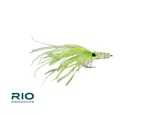 RIO Flies - Keep It Glassy Chartreuse #2