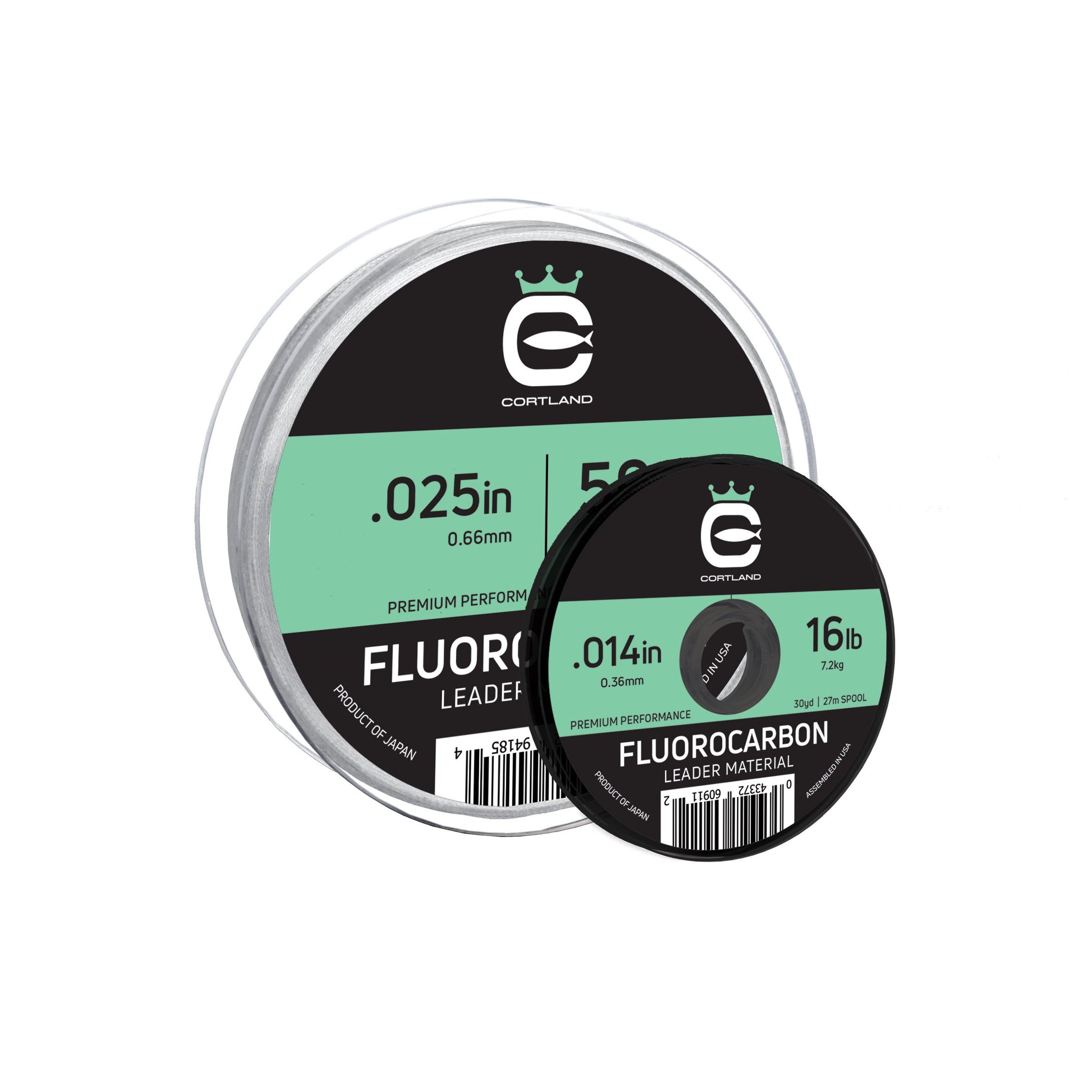 Cortland Fluorocarbon Leader Material / Tippet Line