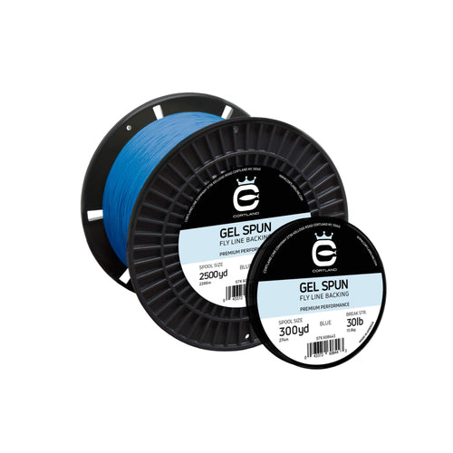 Cortland Gel Spun Fly Line Backing - Blue (50lb)