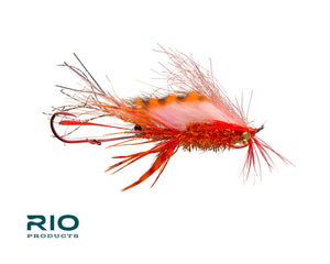RIO Flies - RIO's Ghostbuster Shrimp #2 - Red & Orange