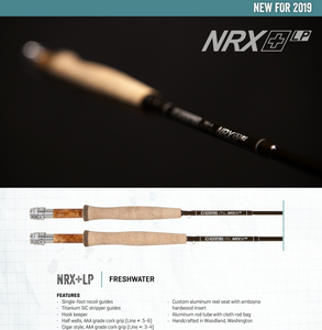 G. Loomis NRX+ LP (Lite Presentation) Freshwater Fly Rods - NEW!!!