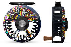 "Abel VAYA Fly Reel - ""Larko Brown Trout"" - NEW!!!"
