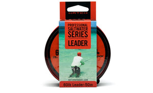 Hatch Professional Saltwater Fluorocarbon Leader Line from 30-80lb.