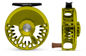"Abel VAYA Fly Reel - ""Lime Green"" - NEW!!!"