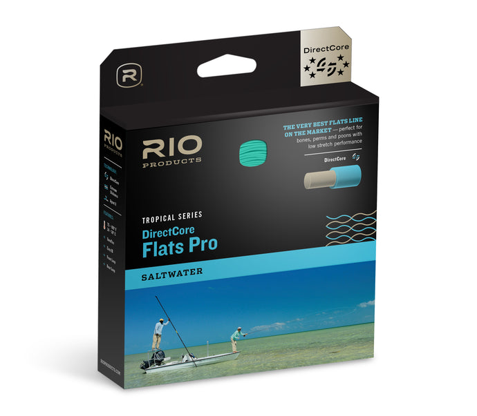 RIO Flats Pro StealthTip DirectCore Series Fly Line