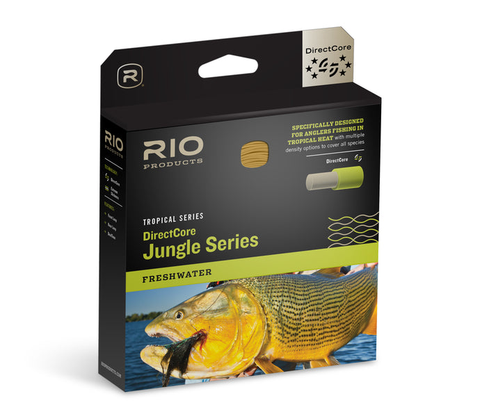 NEW! RIO DirectCore Jungle Series F Fly Line