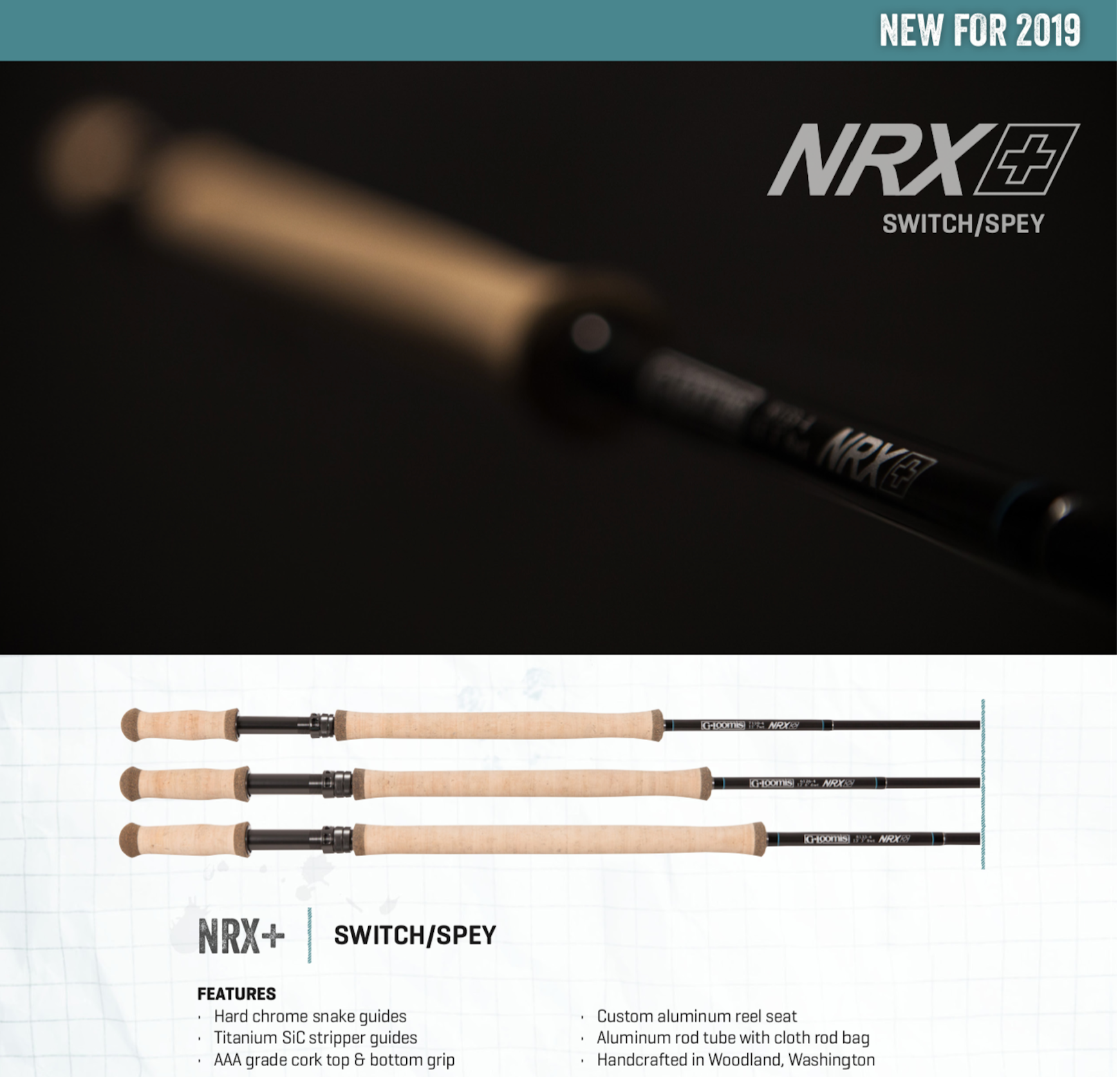 G. Loomis NRX+ SWITCH Fly Rods - NEW!!!