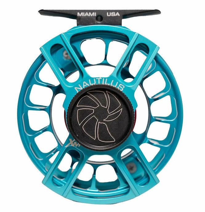 Nautilus X Series Fly Reels - Turquoise - NEW!