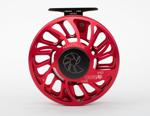 Nautilus CCF-X2 Fly Reels - Red