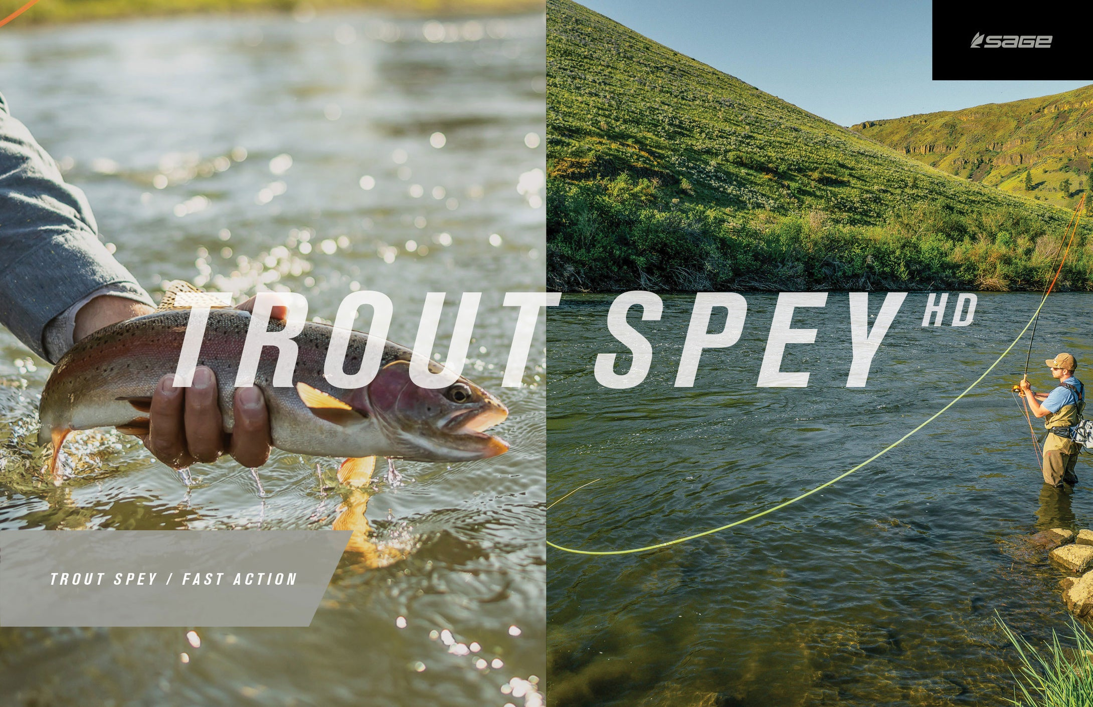 Sage TROUT SPEY HD Fly Rods - NEW!