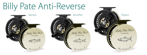 Tibor Billy Pate Anti-Reverse Saltwater Fly Reels