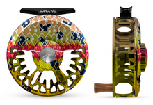 "Abel VAYA Fly Reel - ""DeYoung Rainbow Flank"" - NEW!!!"