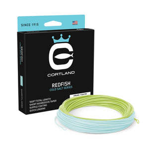 Cortland Cold Redfish Fly Line - Cold Salt Series - NEW!