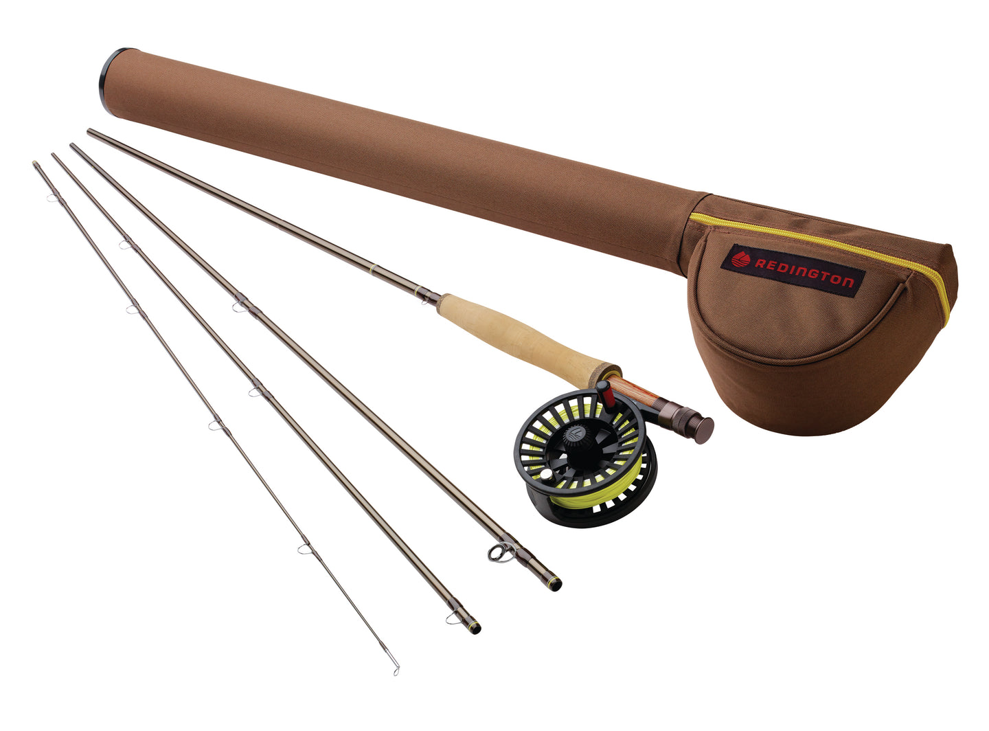 Redington PATH Fly Rod & Reel Combo w/ Case
