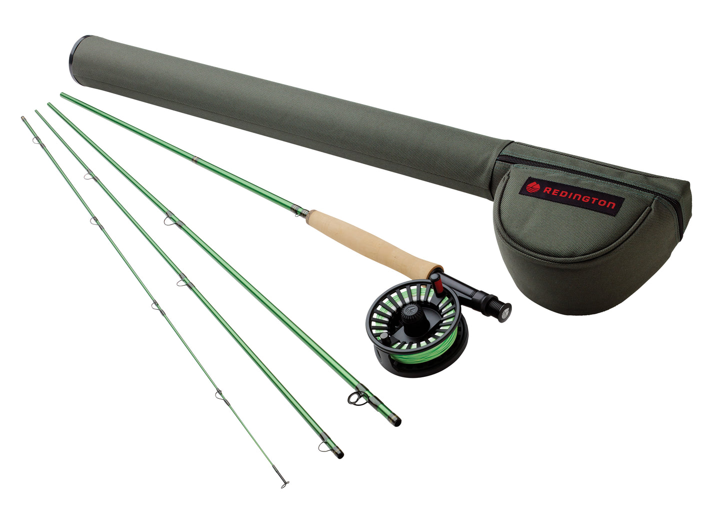Redington VICE Fly Rod & Reel Combo w/ Case
