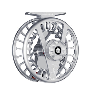 Redington RISE Fly Reel - Silver