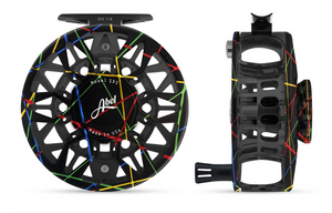 "Abel SDS Fly Reel - ""Retro Carnival"""