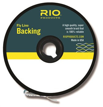 Rio Fly Line Backing - Dacron 200yd Spool (10 Color Options)