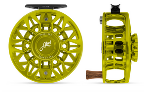 "Abel SDS Fly Reel - ""Lime Green"""